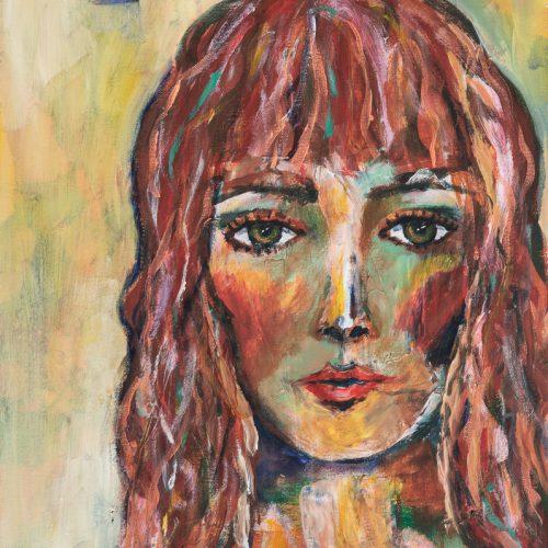 Akryl 40 x 50 cm