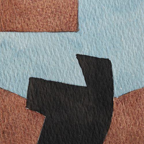 Akvarell 10 x 10 cm