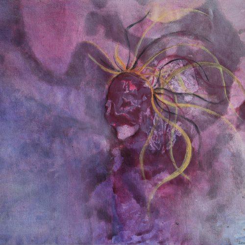 50 x 41 cm Akryl på duk