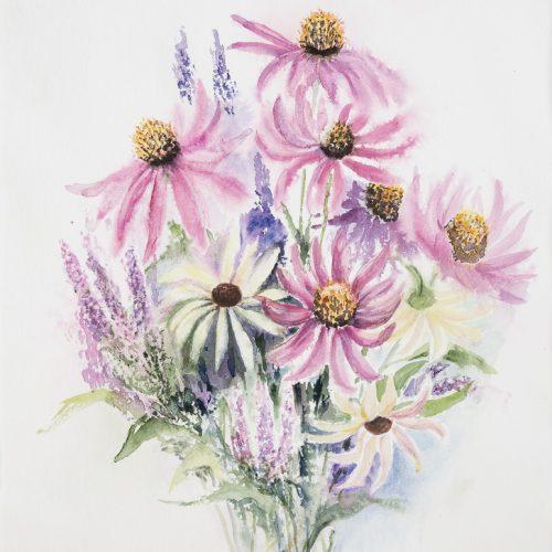 Akvarell 50 x 70 cm
