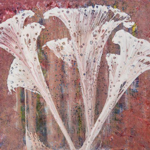 46 x 38 cm Akryl pouring