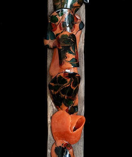 Resin, trä 70 x 9 cm