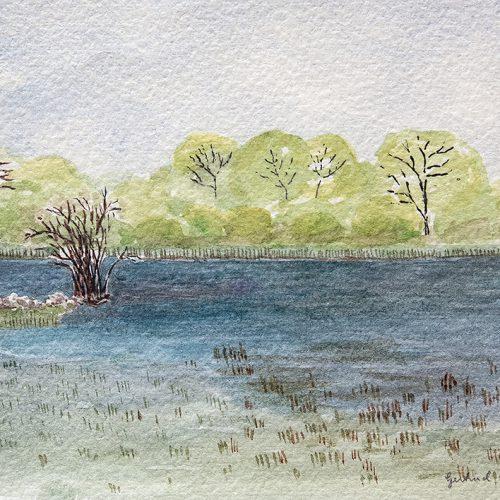 Akvarell 22 x 33 cm