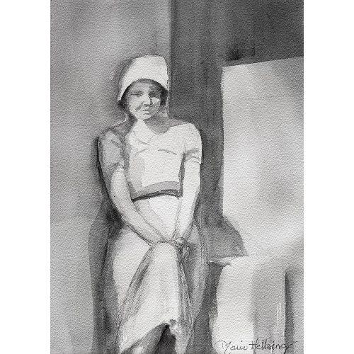 Akvarell 34 x 24 cm