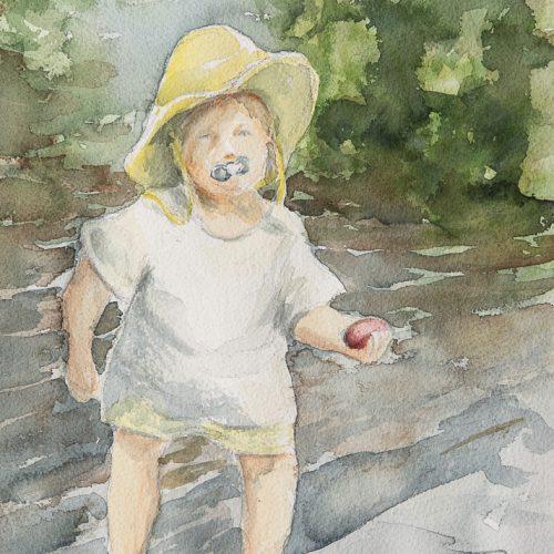 Akvarell 24 x 34 cm