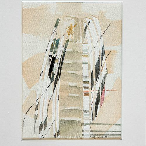 Akvarellcollage 24 x 31 cm