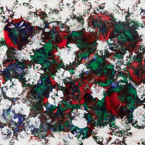50 x 40 cm Akryl pouring