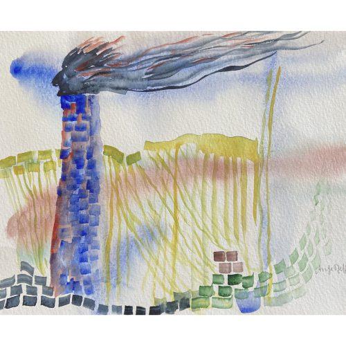 Akvarell 27 x 22 cm