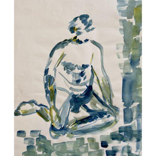 Akvarell 28 x 32 cm
