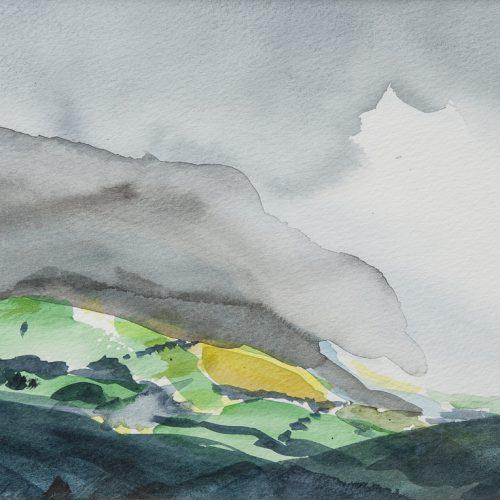 Akvarell 30 x 25 cm