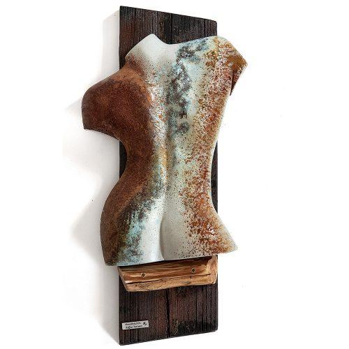 Betong och trä 50 x 28 cm
