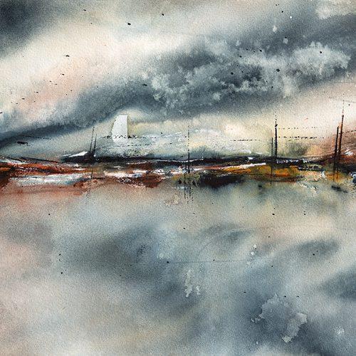 Akvarell 38 x 56 cm
